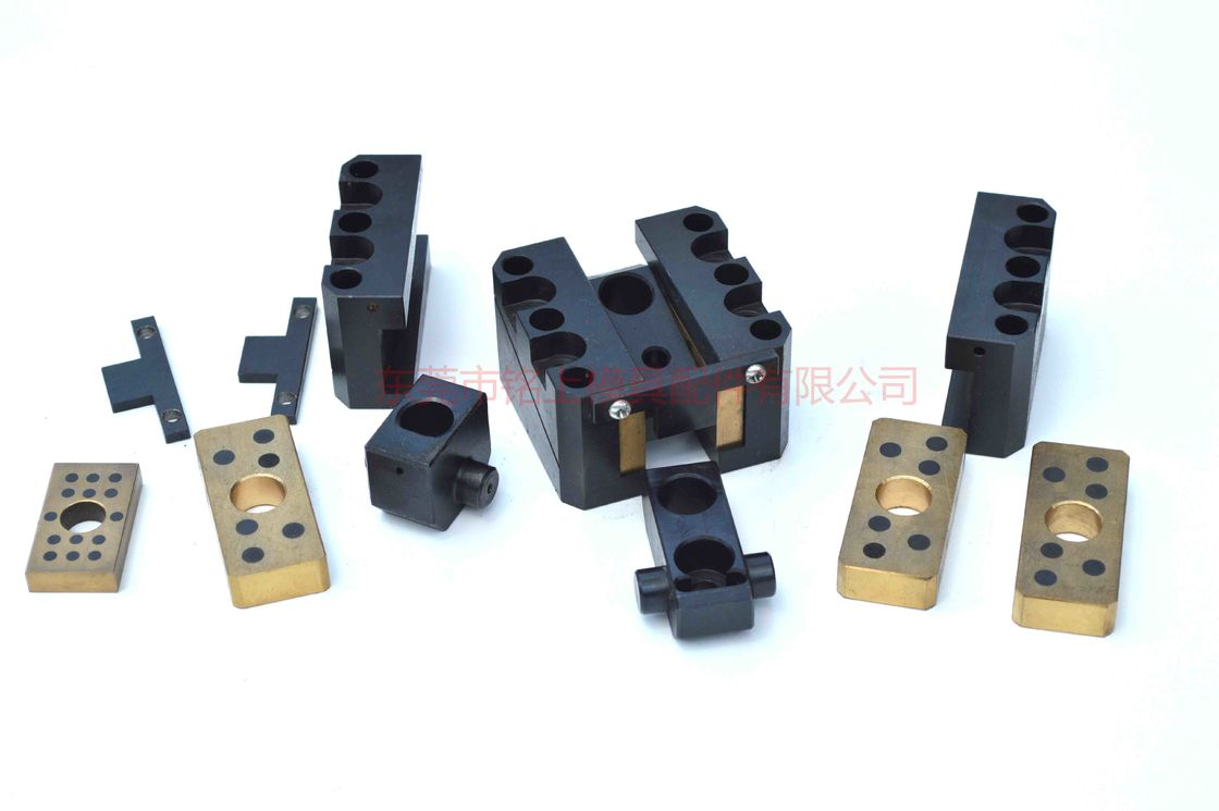 Small Plastic Injection Mold Components , Side Core In Injection Moulding